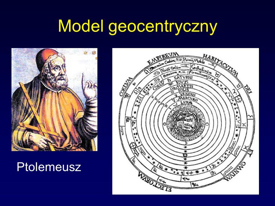 Model geocentryczny Ptolemeusz