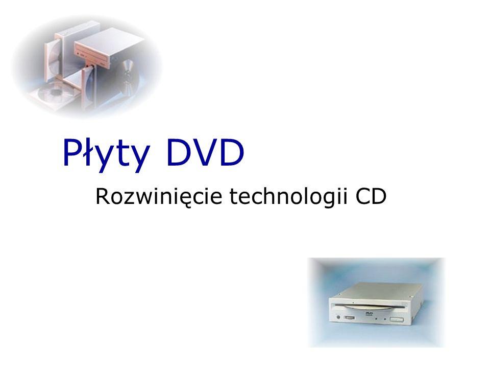 Rozwinięcie technologii CD