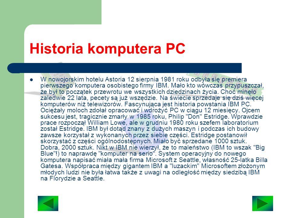 Historia komputera PC