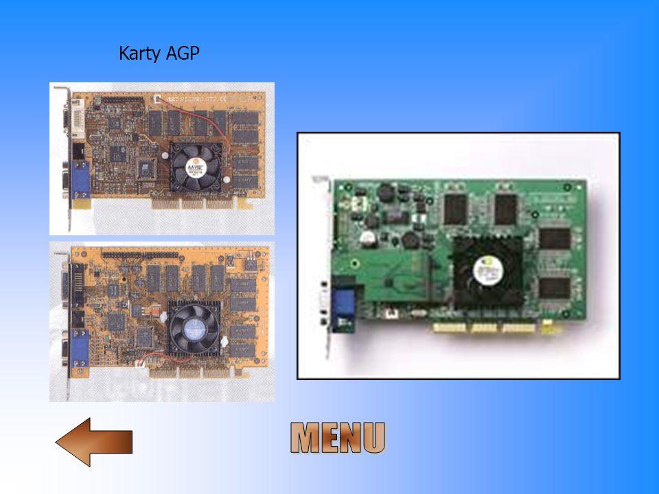Karty AGP MENU