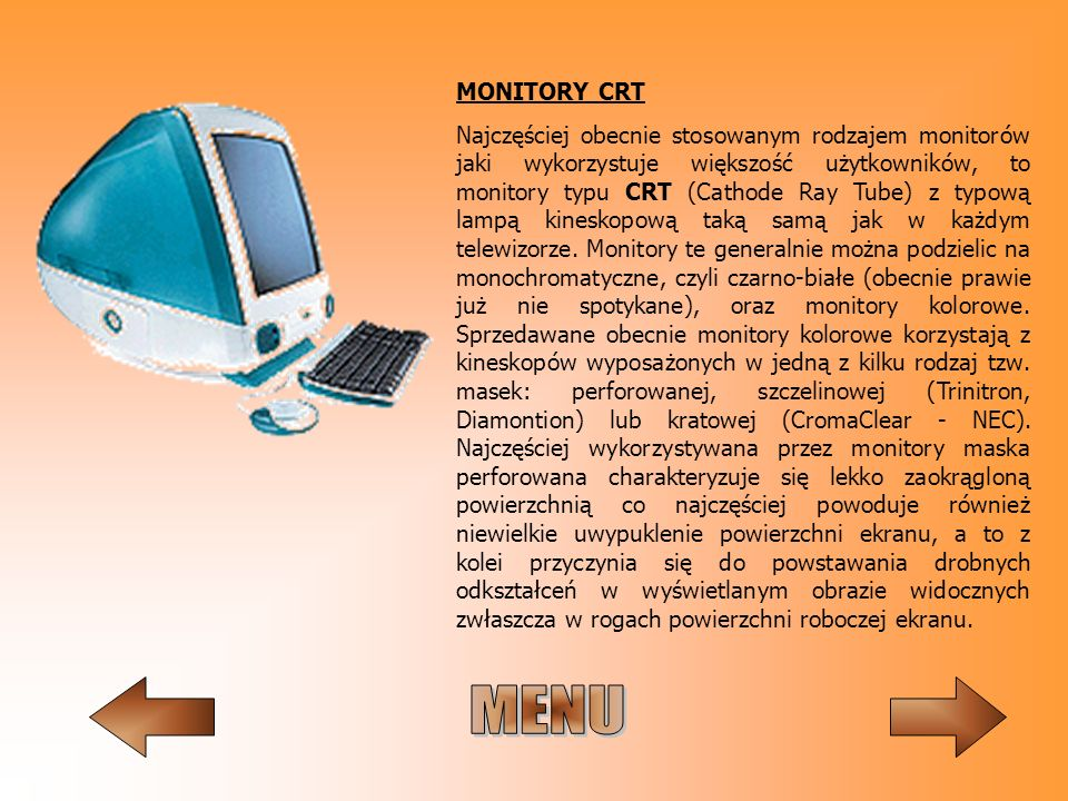 MONITORY CRT