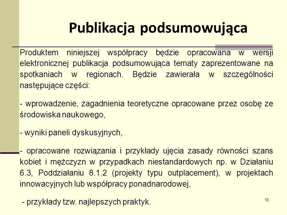 Publikacja podsumowująca