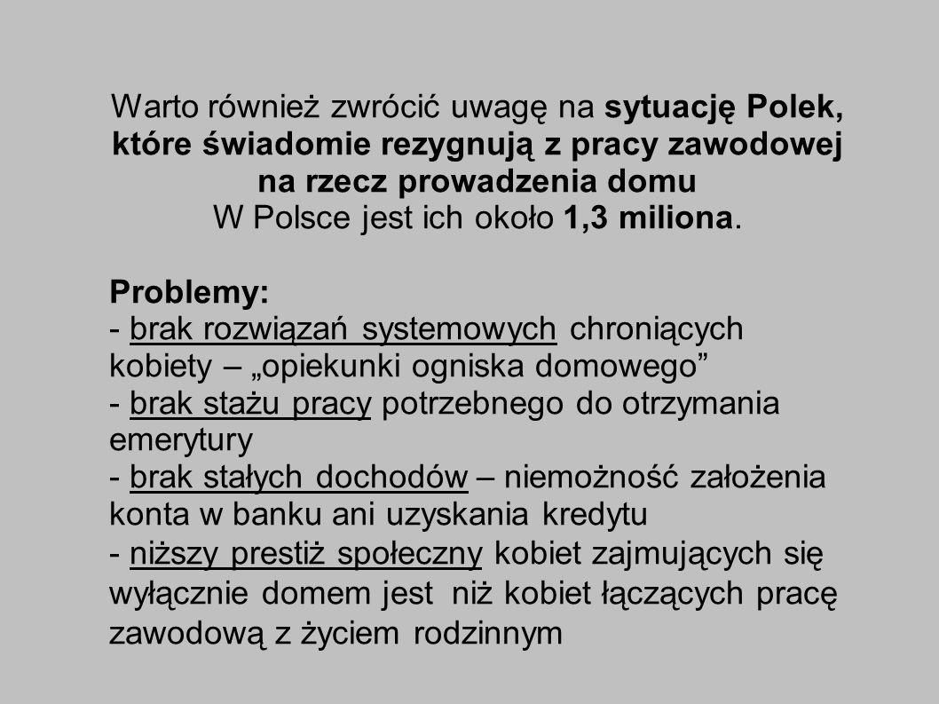 W Polsce jest ich około 1,3 miliona.