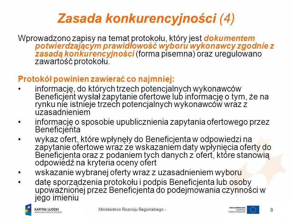 Zasada konkurencyjności (4)