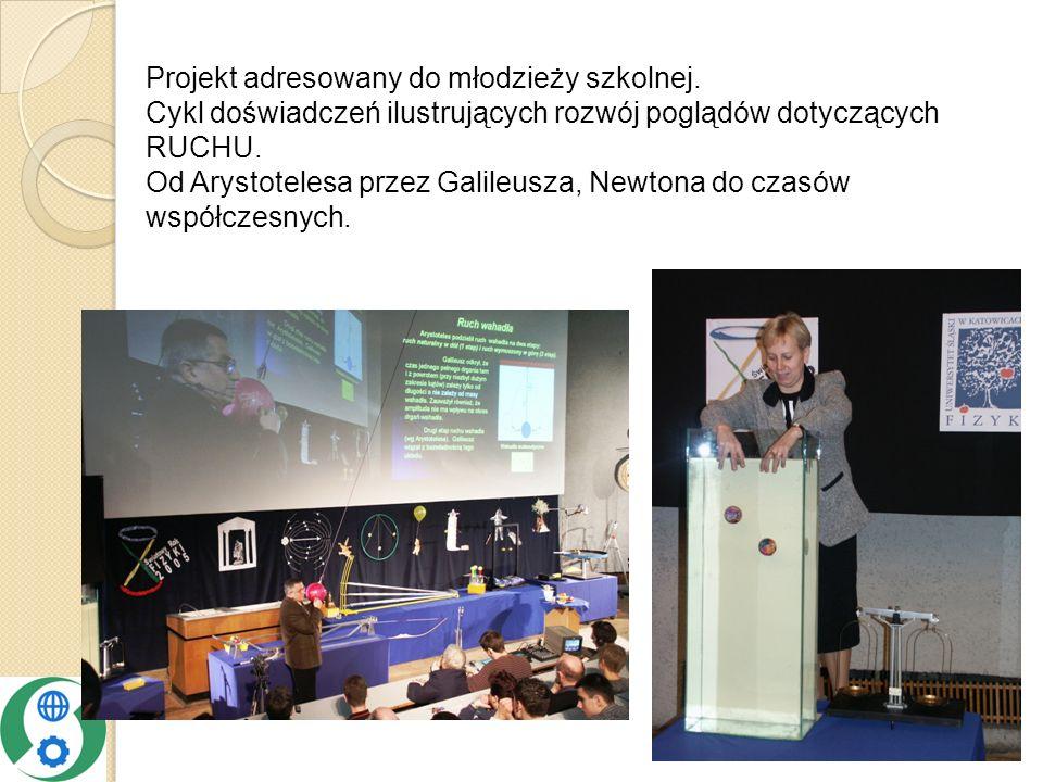 Projekt adresowany do młodzieży szkolnej.