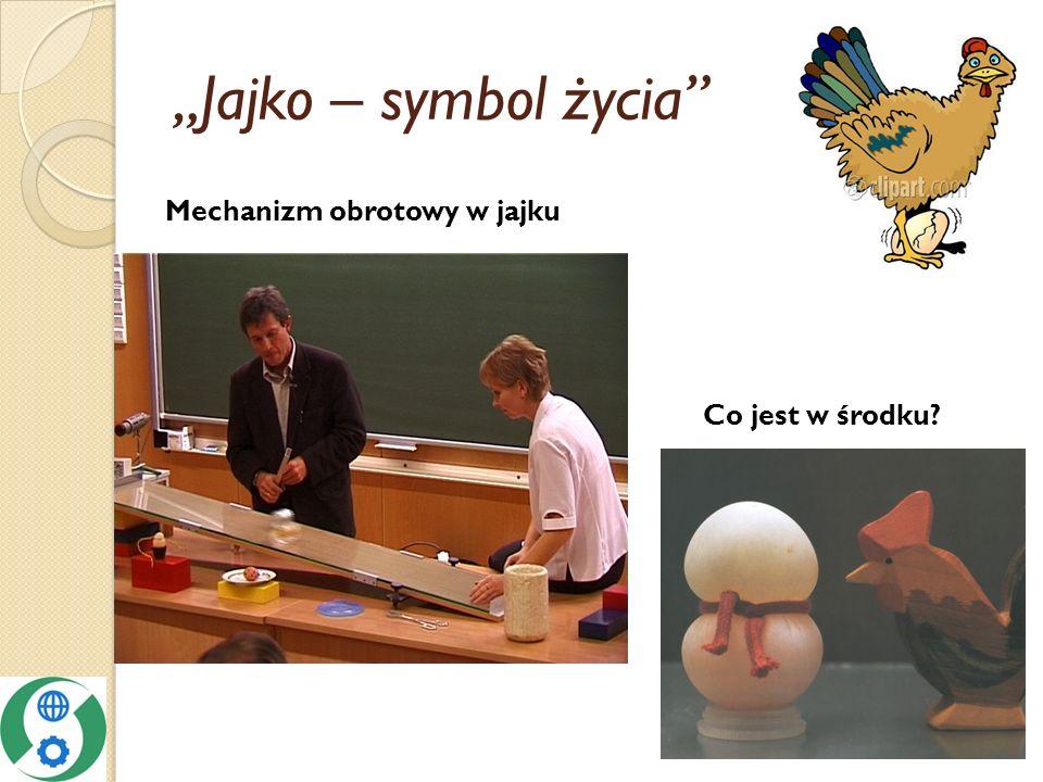 """""""Jajko – symbol życia Mechanizm obrotowy w jajku Co jest w środku"""