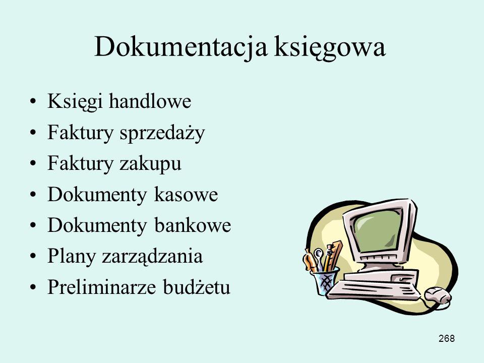 Dokumentacja księgowa