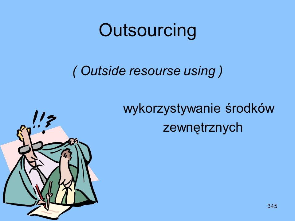 ( Outside resourse using )