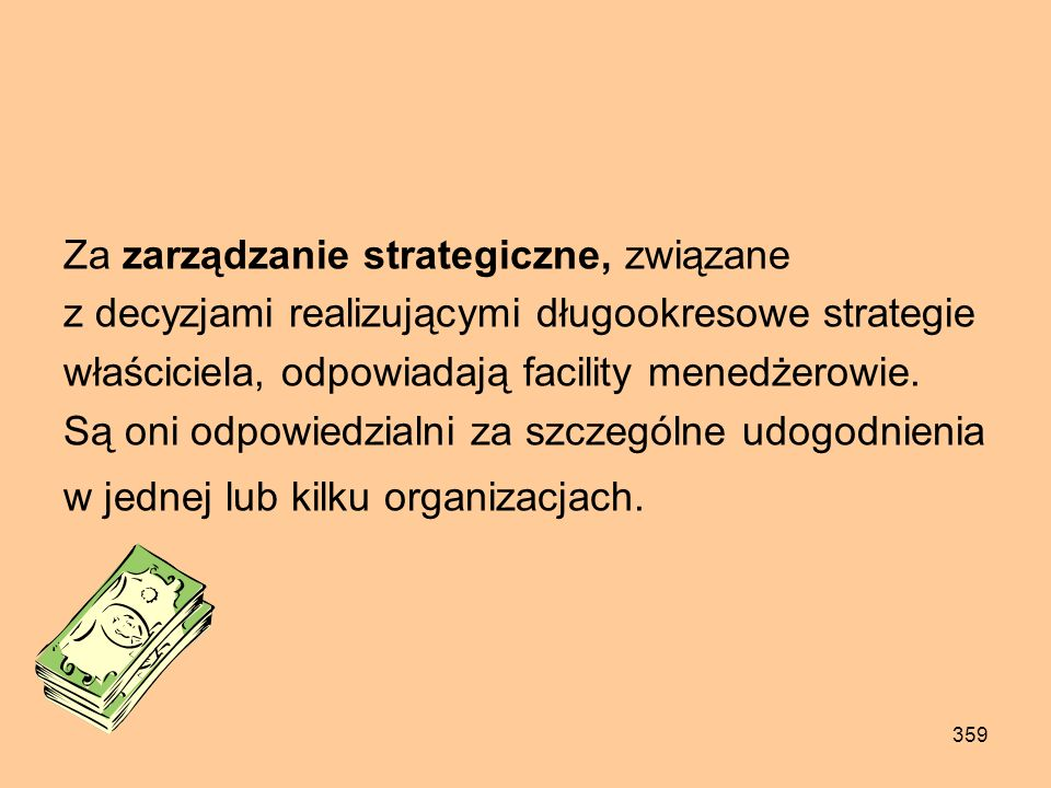 Za zarządzanie strategiczne, związane