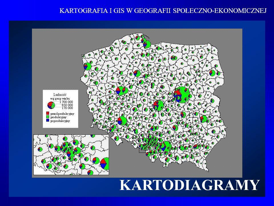 KARTOGRAFIA I GIS W GEOGRAFII SPOŁECZNO-EKONOMICZNEJ