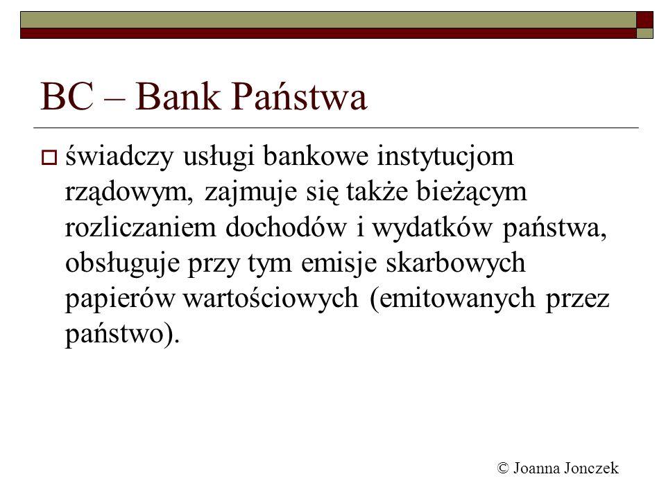 BC – Bank Państwa