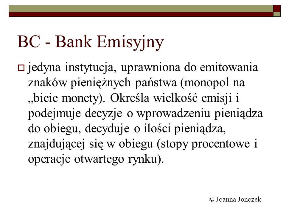 BC - Bank Emisyjny