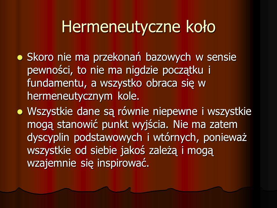 Hermeneutyczne koło
