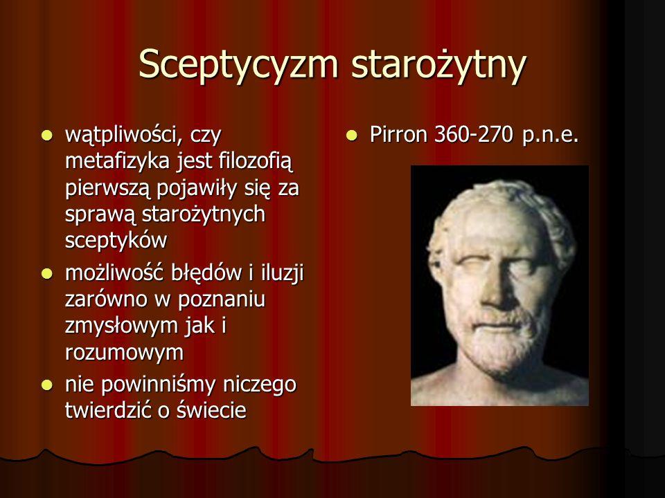 Sceptycyzm starożytny