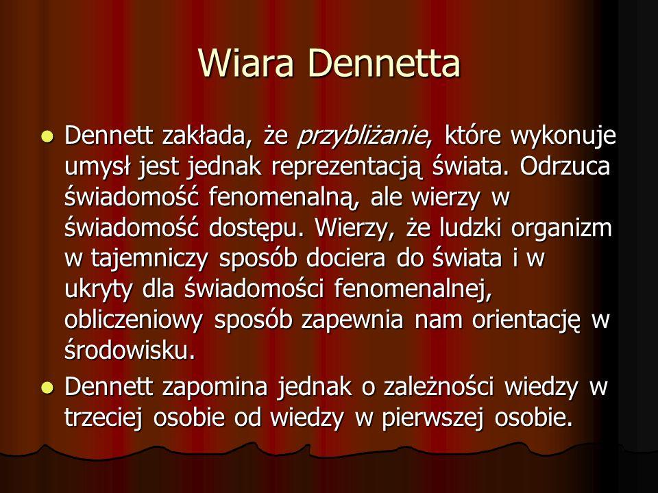Wiara Dennetta