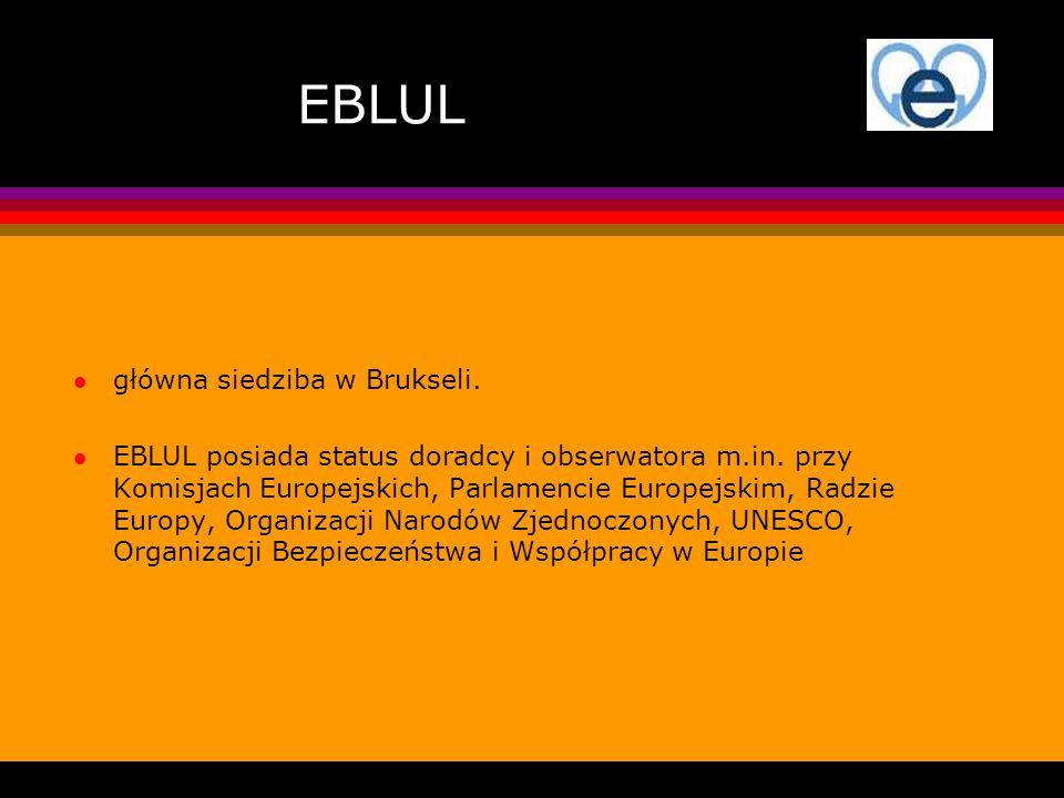 EBLUL główna siedziba w Brukseli.