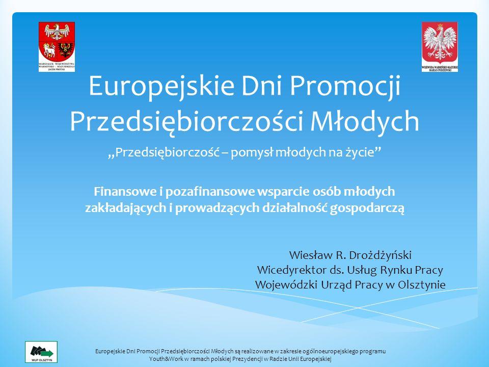 Europejskie Dni Promocji Przedsiębiorczości Młodych