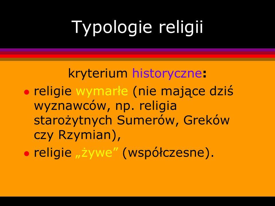 kryterium historyczne: