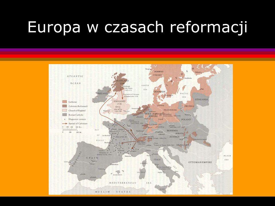 Europa w czasach reformacji
