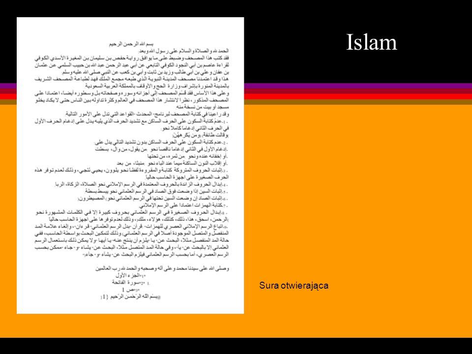 Islam Sura otwierająca