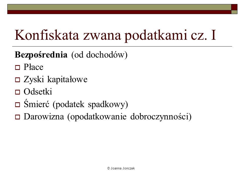 Konfiskata zwana podatkami cz. I