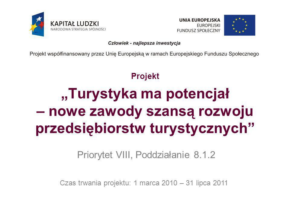 Czas trwania projektu: 1 marca 2010 – 31 lipca 2011