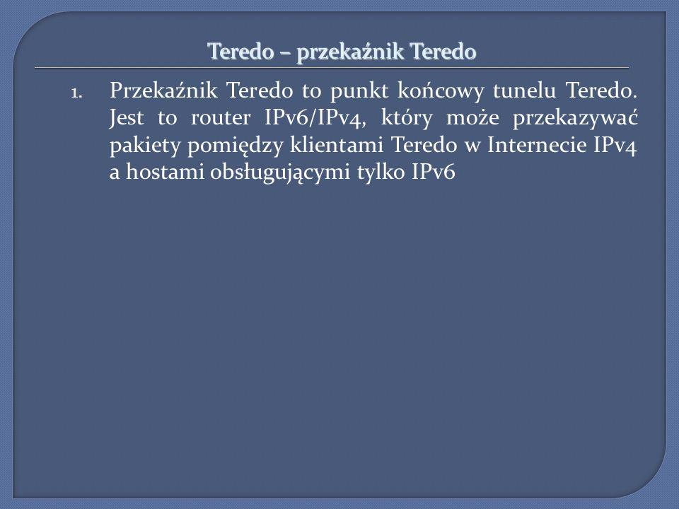 Teredo – przekaźnik Teredo