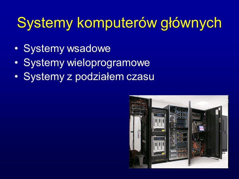 Systemy komputerów głównych