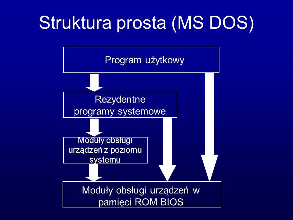 Struktura prosta (MS DOS)