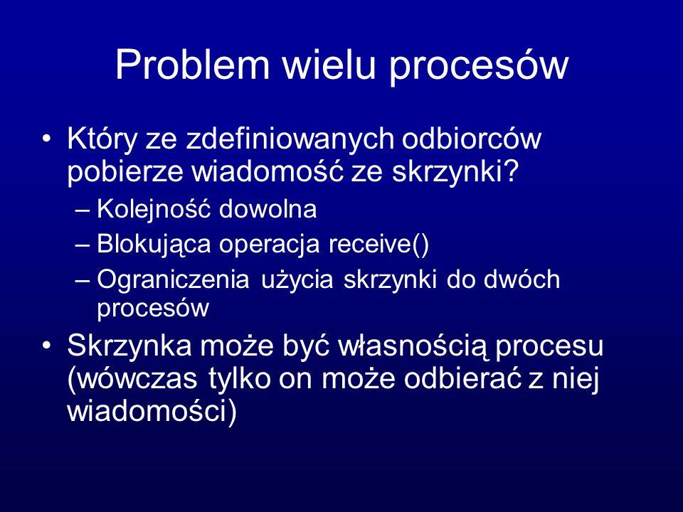 Problem wielu procesów