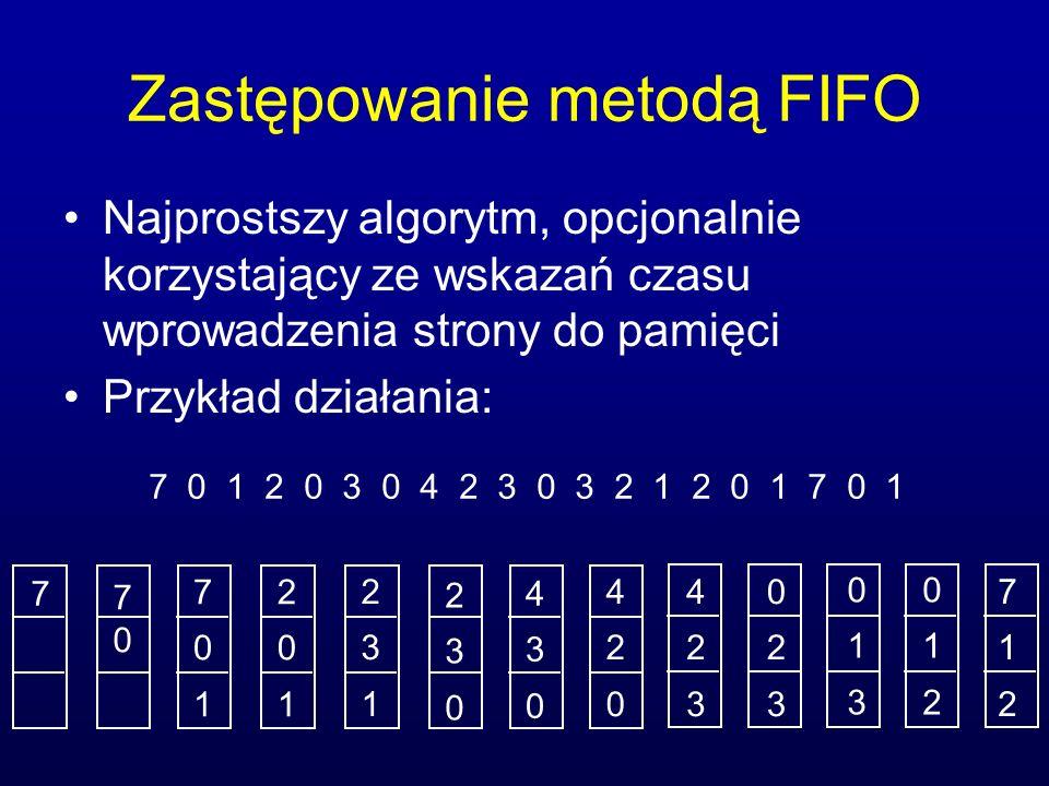 Zastępowanie metodą FIFO