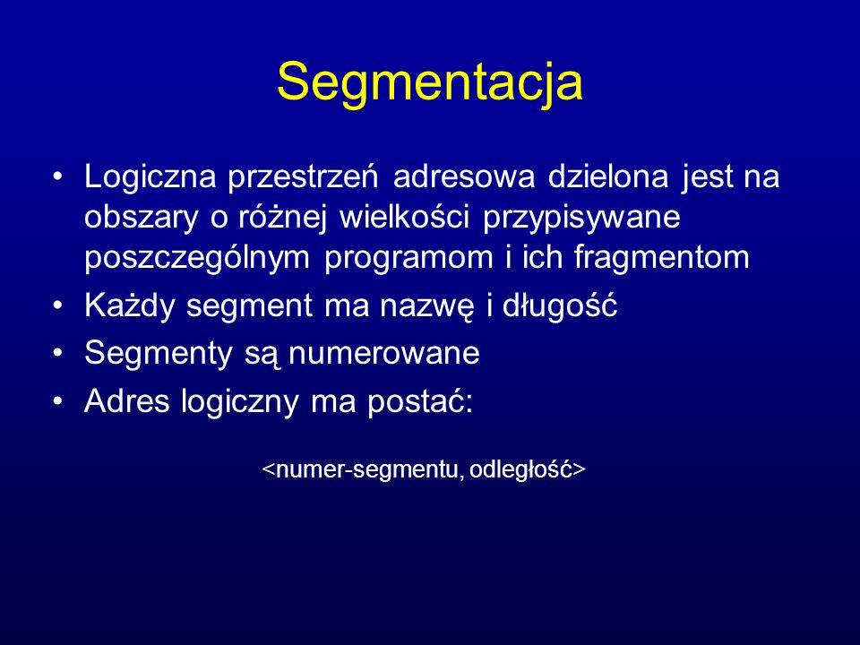 <numer-segmentu, odległość>