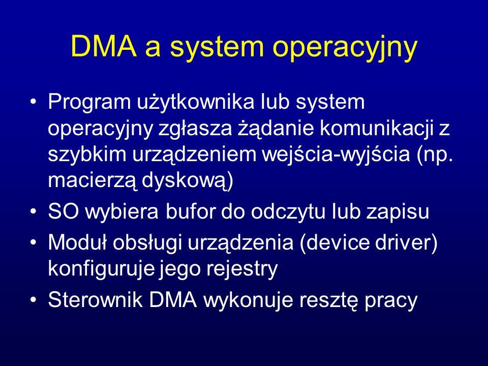 DMA a system operacyjny