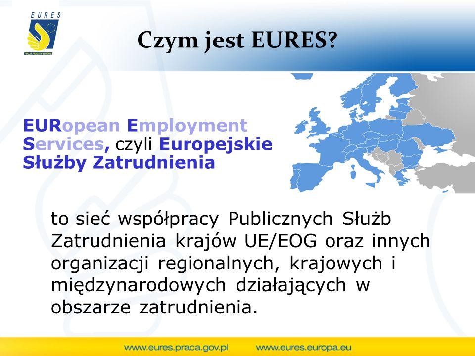 Czym jest EURES EURopean Employment Services, czyli Europejskie Służby Zatrudnienia.