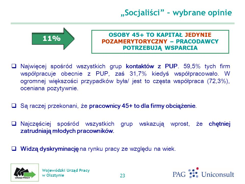 """""""Socjaliści – wybrane opinie"""