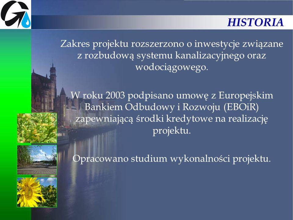 Opracowano studium wykonalności projektu.