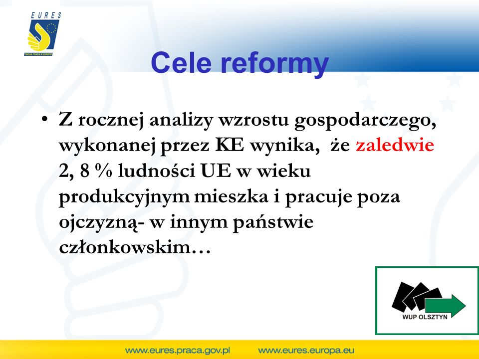 Cele reformy