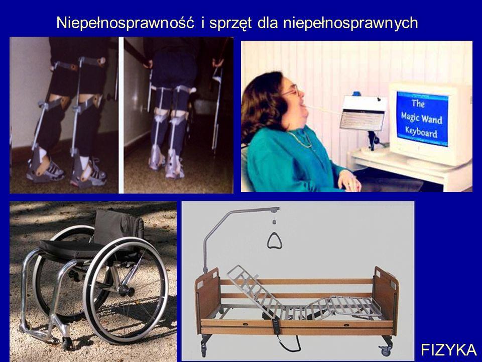 Niepełnosprawność i sprzęt dla niepełnosprawnych