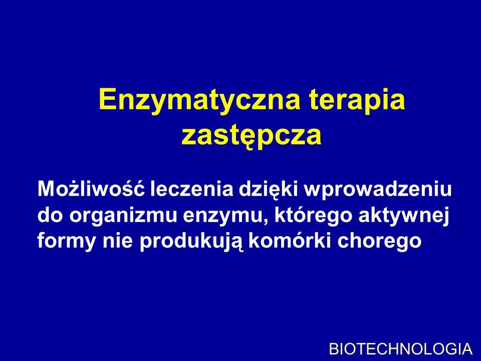 Enzymatyczna terapia zastępcza