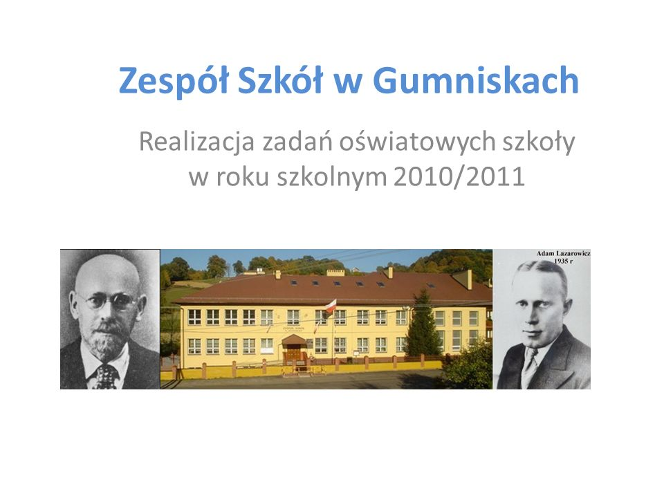 Zespół Szkół w Gumniskach