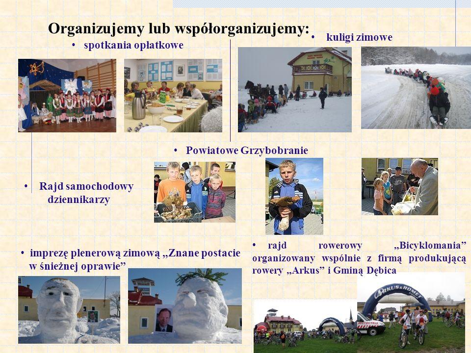 Organizujemy lub współorganizujemy: