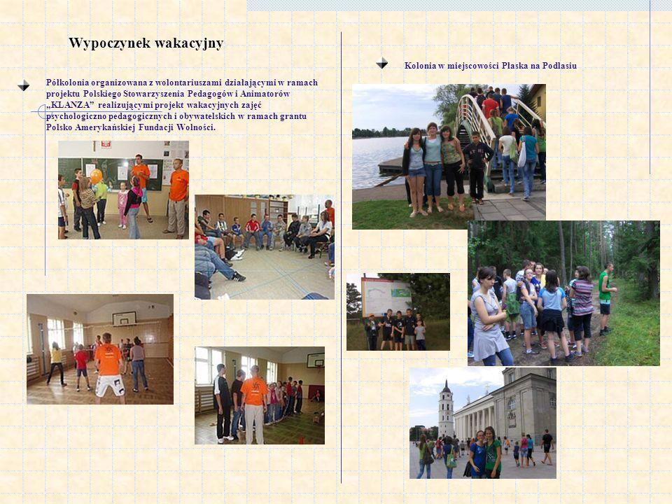 Wypoczynek wakacyjny Kolonia w miejscowości Płaska na Podlasiu
