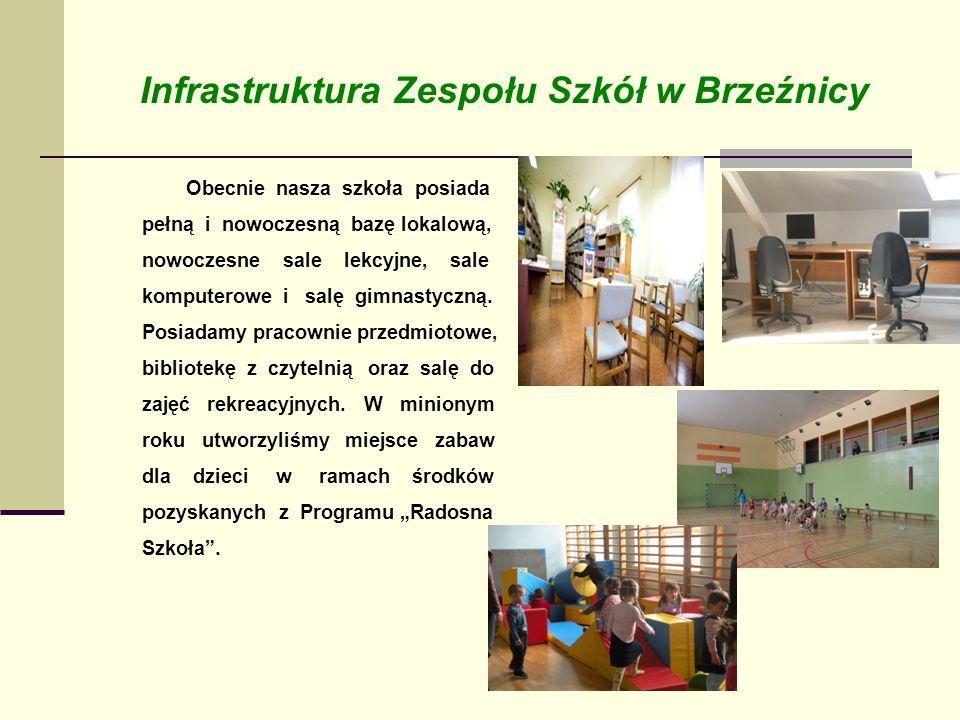 Infrastruktura Zespołu Szkół w Brzeźnicy
