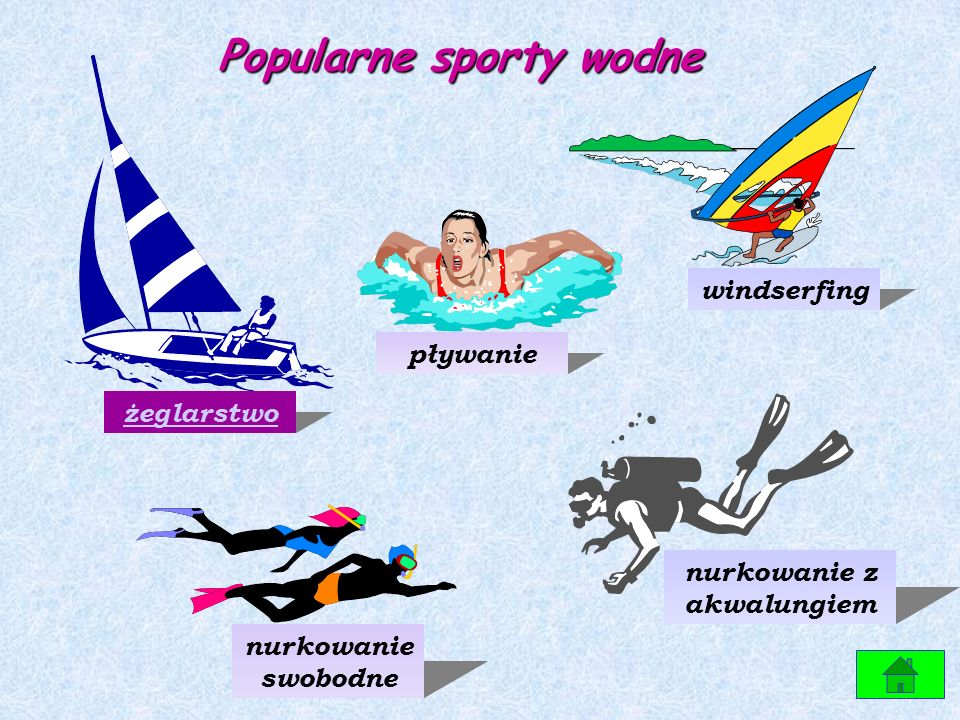 Popularne sporty wodne nurkowanie z akwalungiem