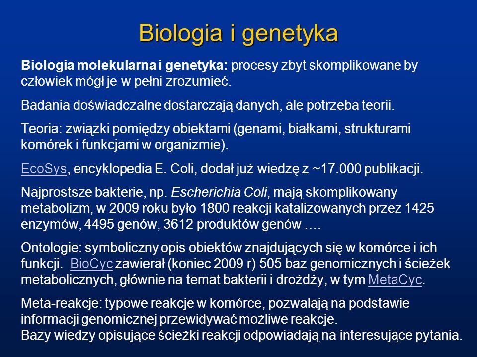 Biologia i genetyka Biologia molekularna i genetyka: procesy zbyt skomplikowane by człowiek mógł je w pełni zrozumieć.