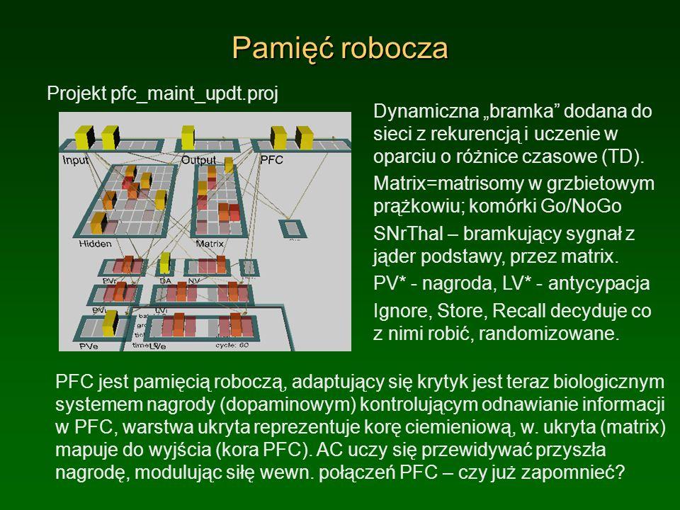 Pamięć robocza Projekt pfc_maint_updt.proj