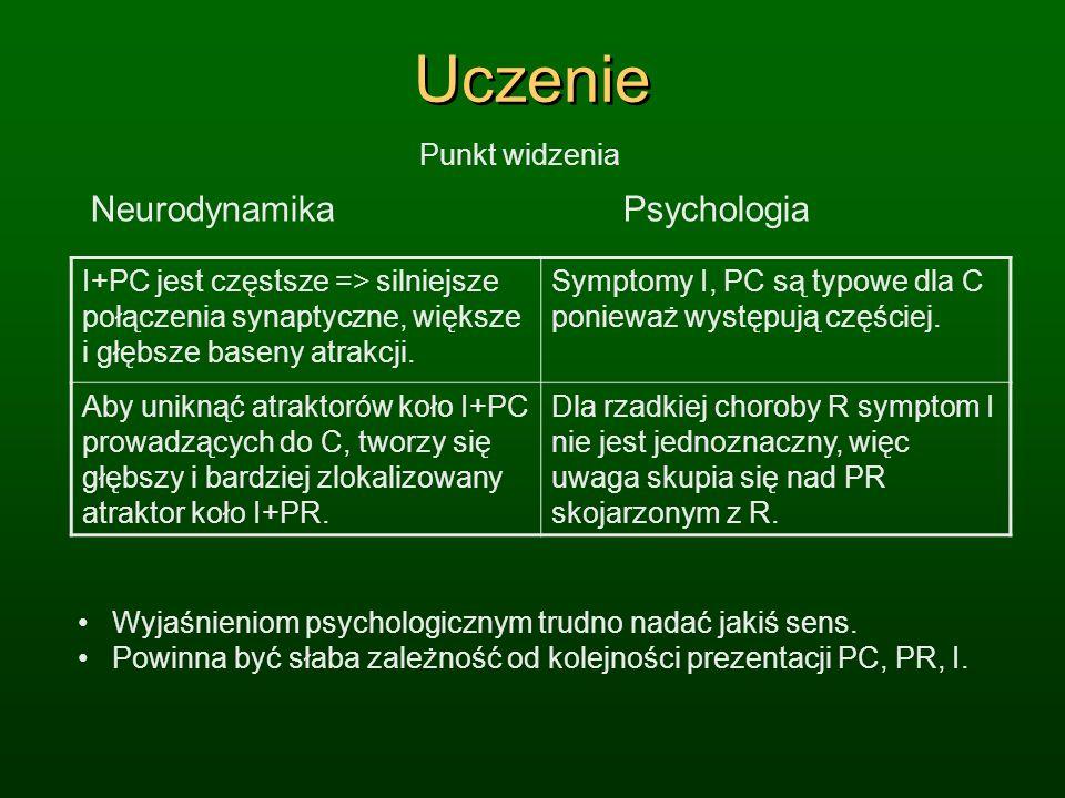 Uczenie Neurodynamika Psychologia Punkt widzenia