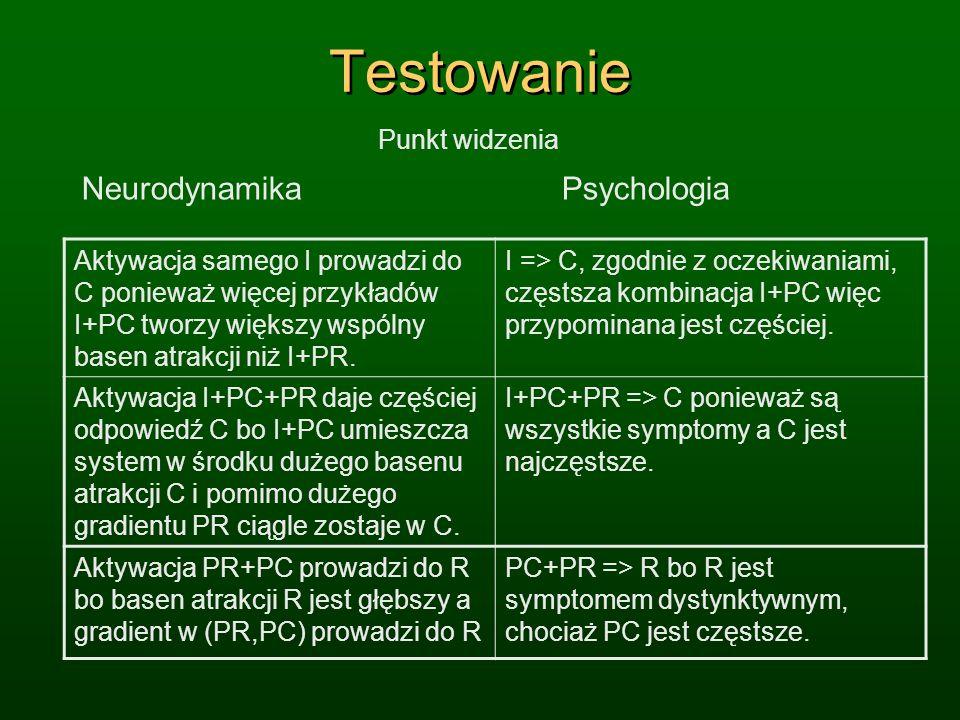 Testowanie Neurodynamika Psychologia Punkt widzenia