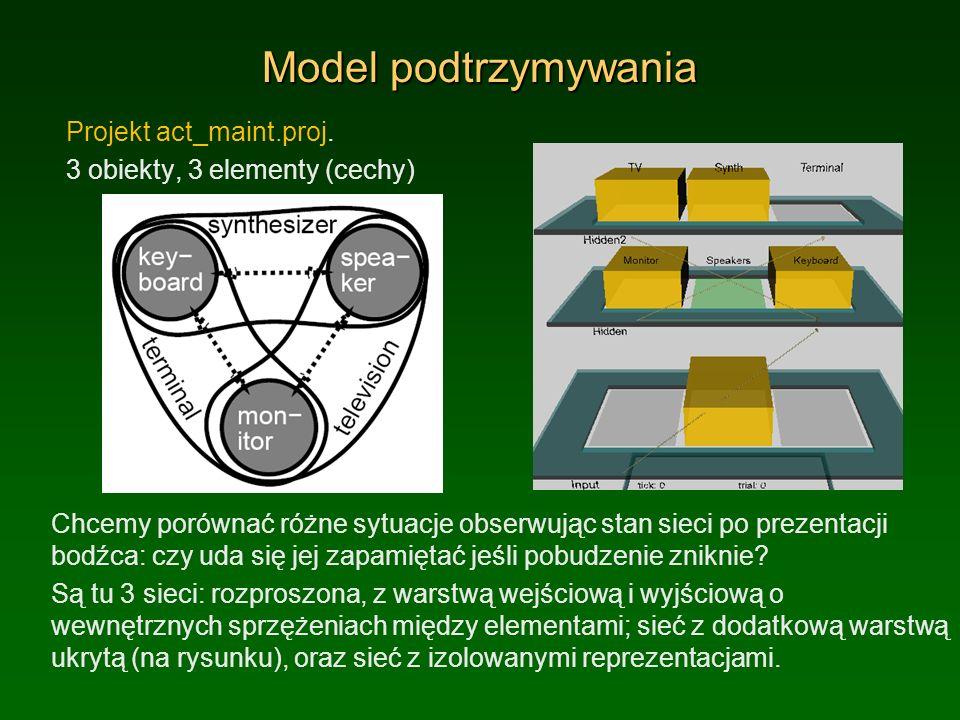 Model podtrzymywania Projekt act_maint.proj.