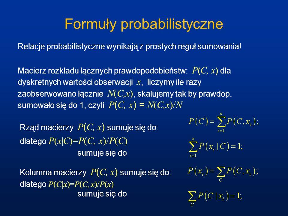 Formuły probabilistyczne